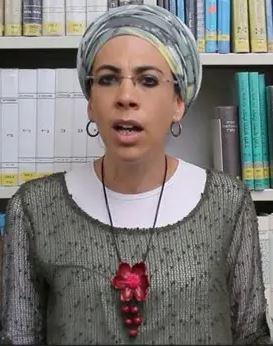 הרבנית ד ר שולמית בן שעיה